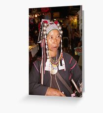 HILL TRIBES ELDER'S OF SOUTHEAST ASIA Greeting Card