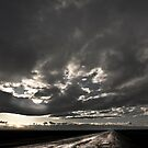 Stormy Country Road by Buckwhite