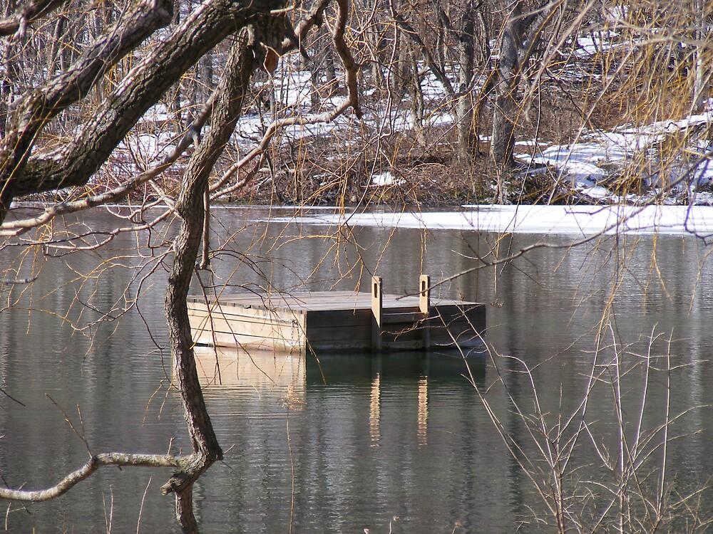 Dock in the Bay by Melissa Sampson-Kovacs