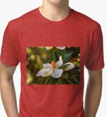 Southern Magnolia Blossom Tri-blend T-Shirt