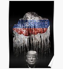 Trump Under The Russian Cloud. When it rains, it pours. Poster
