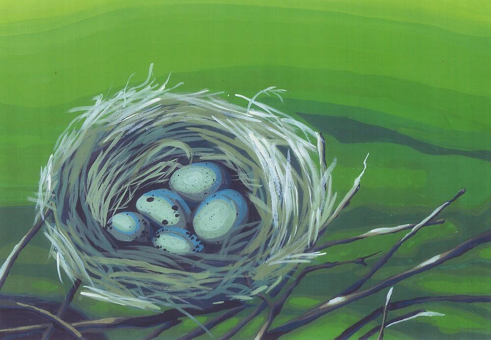 Robin's Nest by Kat Wright