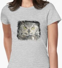 Owl be damned - Tee Women's Fitted T-Shirt