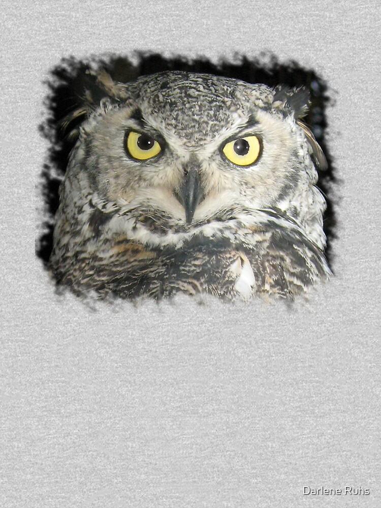 Owl be damned - Tee by Darlene