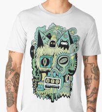 Double Je (couleur) Men's Premium T-Shirt
