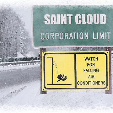 Fargo/St. Cloud Falling AC Warning by LWLex