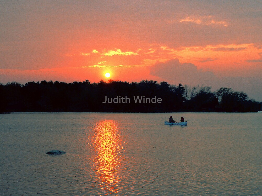 "Sunset ""Cruise"" by Judith Winde"