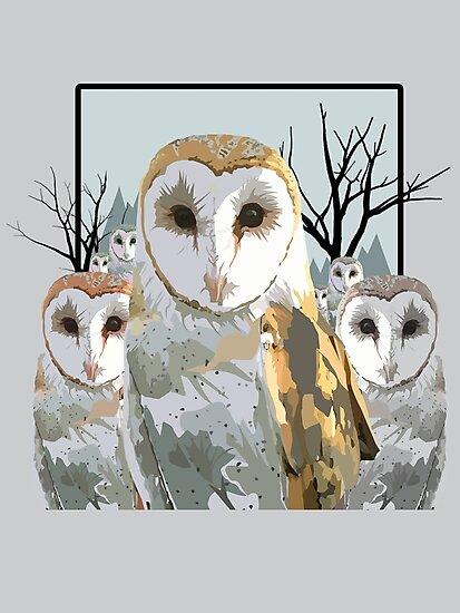 Barn Owl Pack by Adam Santana