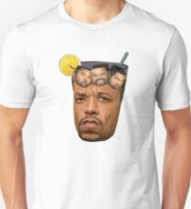 Just Some Ice Tea and Ice Cubes Tshirt design Unisex T-Shirt