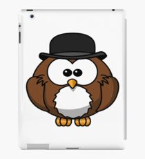 T-shirt, hat, animal, flying, owl, hat, hat, magical, sexy iPad Case/Skin