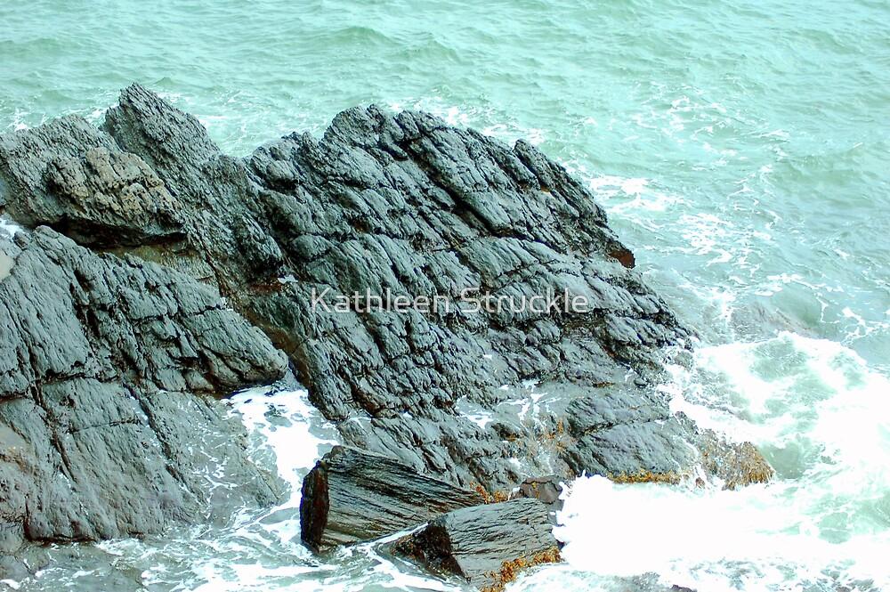 Rocks In The Ocean by Kathleen Struckle