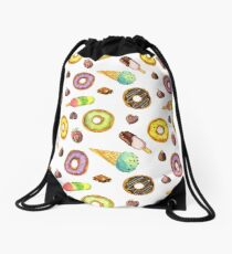 Appetizing sweets Drawstring Bag