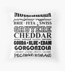CHEESE! Throw Pillow