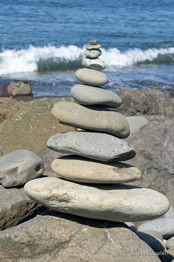 Stacked Rocks by Lynn Bawden