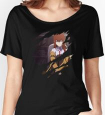 Kurisu Inspired Anime Shirt Women's Relaxed Fit T-Shirt