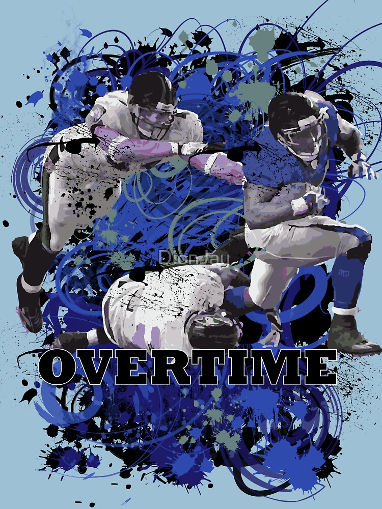 OVERTIME (RECIEVER) JEAN BLUE by DionJay