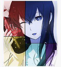 Kurisu Inspired Anime Shirt Poster