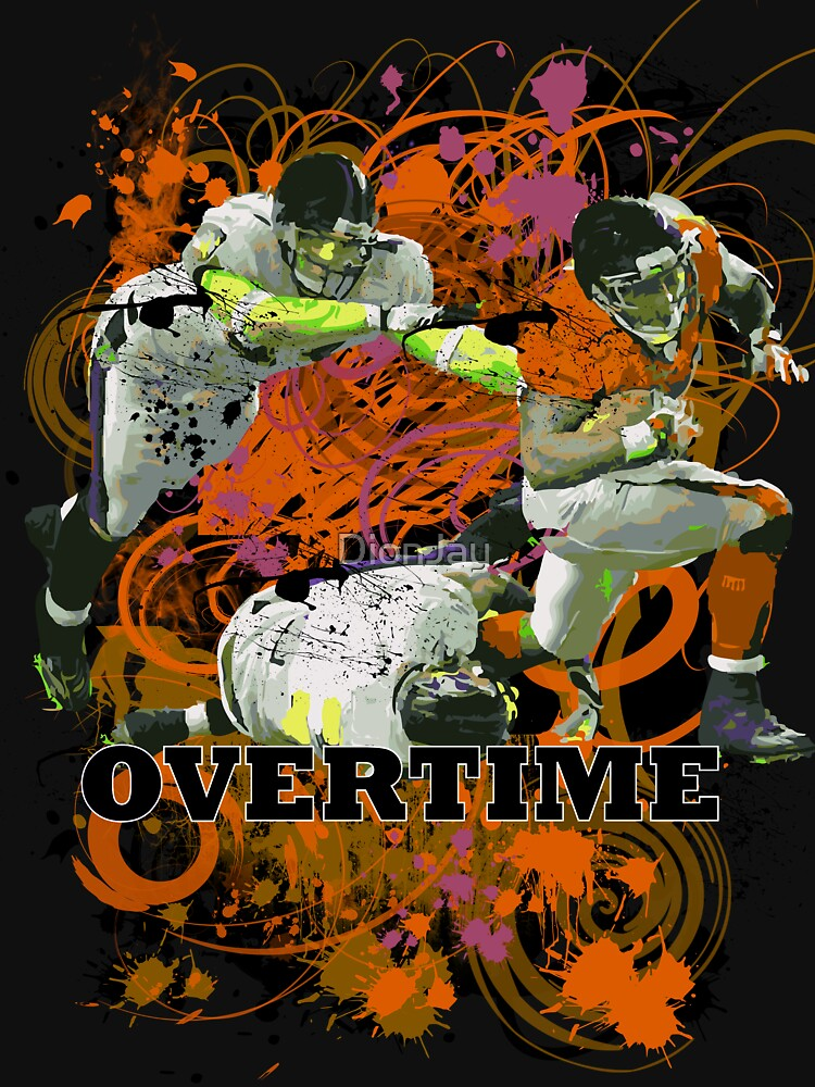 OVERTIME (RECIEVER) ORANGE by DionJay