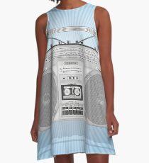 Boombox A-Line Dress