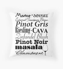 Wine...  Throw Pillow