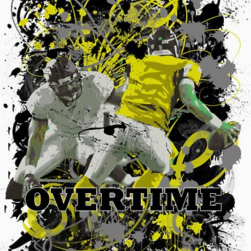 OVERTIME (QUARTERBACK) YELLOW by DionJay