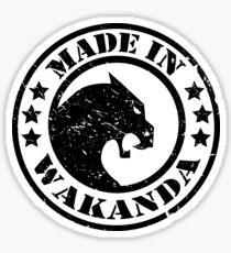 Made in Wakanda- New Skool Sticker