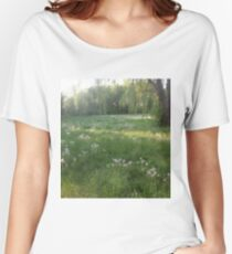 Lawn Wishes Women's Relaxed Fit T-Shirt