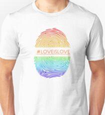 LGBT Fingerprint  Unisex T-Shirt