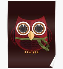The Red Owl - Quadruple Poster