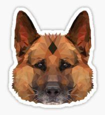 Alsation (German Shepherd) Sticker