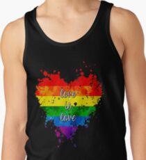 Liebe ist Liebe Tanktop für Männer