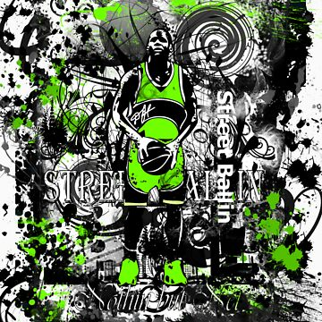 STEET BALLIN (NOTHIN BUT NET ) GREEN by DionJay