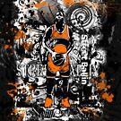 STEET BALLIN (NOTHIN BUT NET ) ORANGE by DionJay