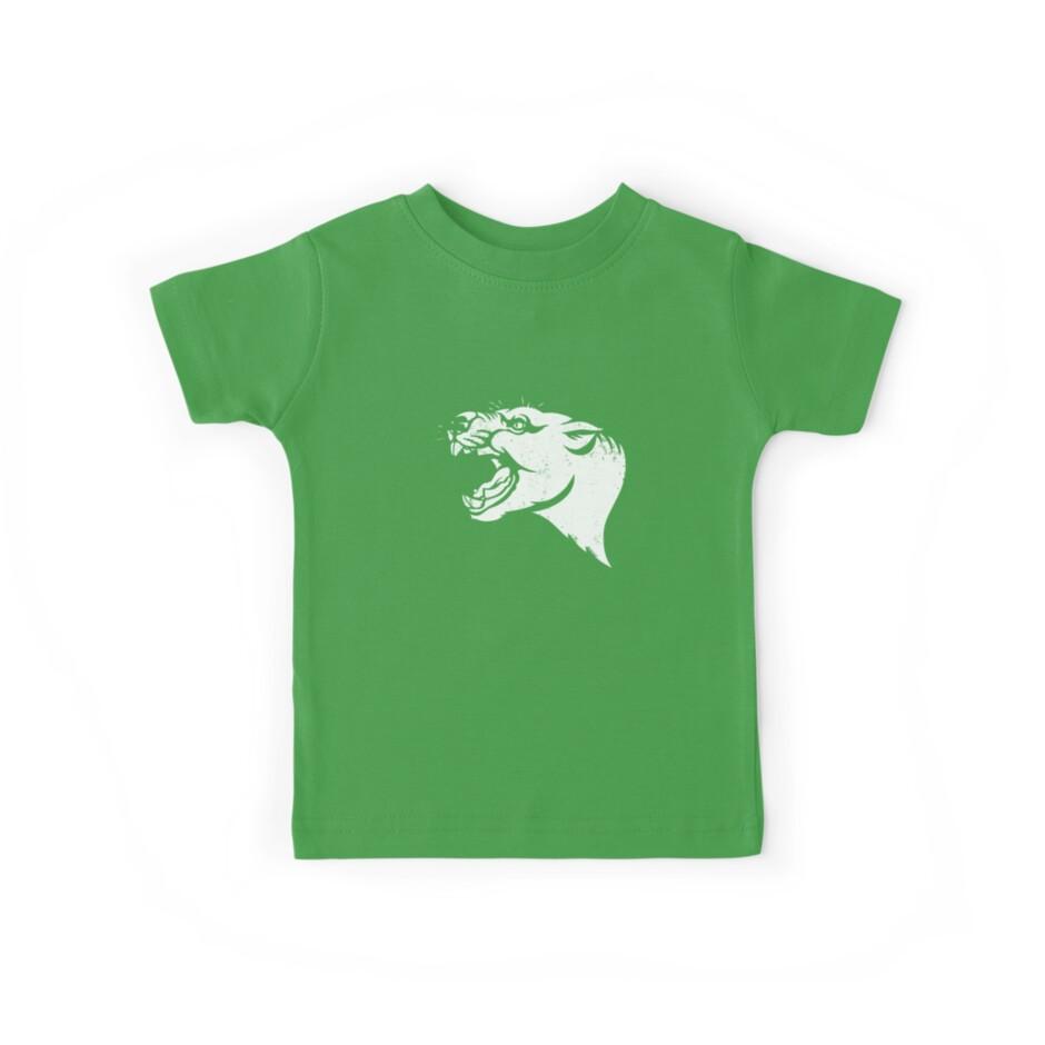 Camisetas para niños «Plantilla de Thylacoleo» de Richard Morden ...