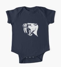 saber tooth cat stencil Kids Clothes