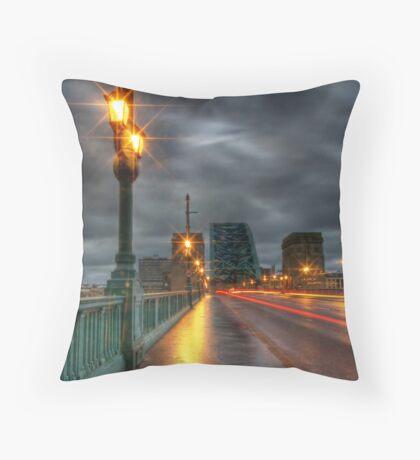 The Tyne Bridge Throw Pillow