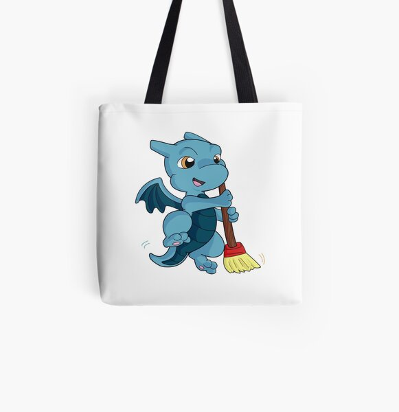 Sweeping Dragon  All Over Print Tote Bag