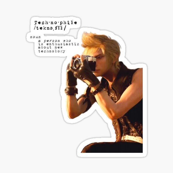 """""""Perfect for a Technophile like you"""" Sticker"""