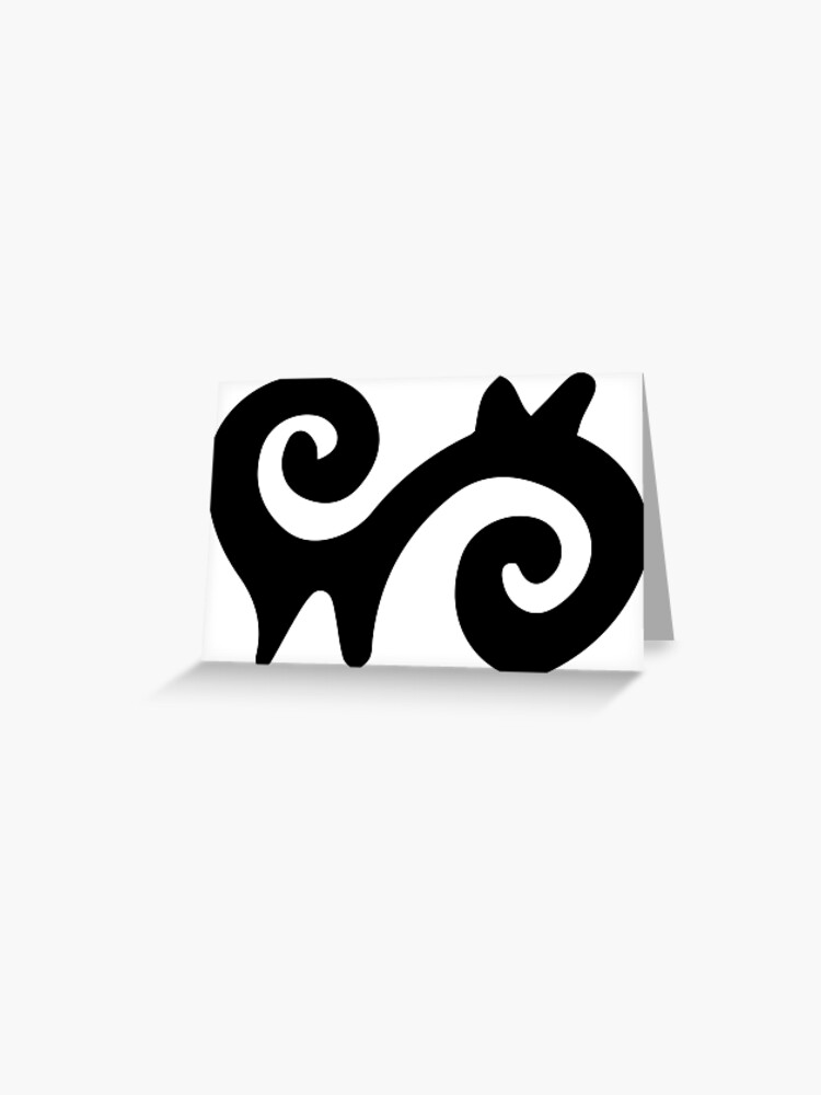 adinkra symbol of energy greeting card by handcraftline redbubble redbubble