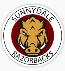 Sunnydale Razorbacks (Buffy) Sticker