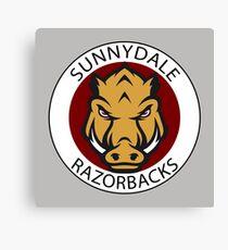 Sunnydale Razorbacks (Buffy) Canvas Print