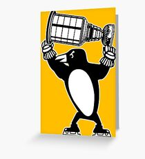 Pittsburgh Penguins Stanley Cup 2017 Greeting Card