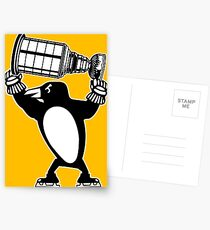Pittsburgh Penguins Stanley Cup Champions Postcards