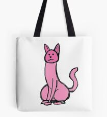 Dick Cat Tote Bag