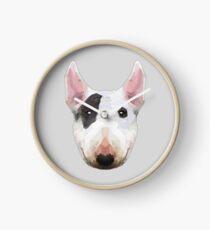 Bull terrier Clock