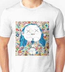 Takashi Murakami - Self portrait of the distressed artist T-Shirt