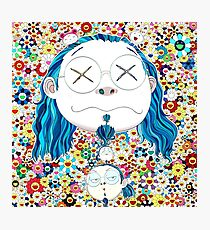 Takashi Murakami - Self portrait of the distressed artist Photographic Print