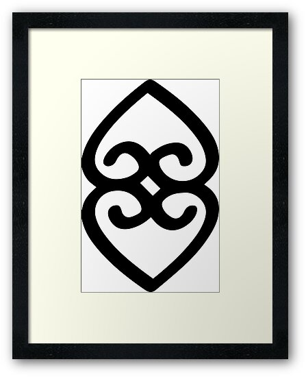 Adinkra Symbol Of Providence And The Divinity Of Mother Earth