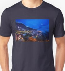 Night falling in Arachova & Parnassos mountain T-Shirt