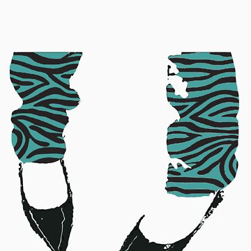 Footloose - Zebra Print by antsp35